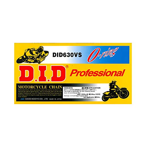 D.I.D Vシリーズ シールチェーン スチール 98L 630VS カワサキ Z1100GP Z1100R   B00EVR92B6