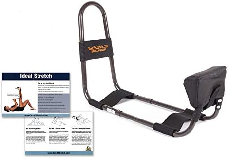 IdealStretch Wedge Combo- Hamstring Stretching Device with Instruction Card – Ideal Leg Stretcher, No Need for A Stretching Partner, Maintains Proper Hip Orientation- with Wedge
