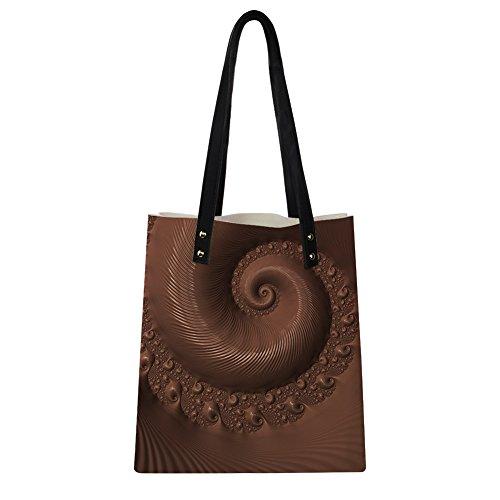 Advocator Frauen PU Leder Handtasche Einkaufstasche mit Brieftasche Casual Reisetaschen Lehrer Totes Tasche Strand Totes für Mädchen Color-2