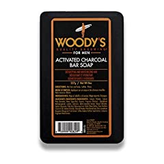 Charcoal has amazing properties that make is a perfect match for even sensitive skin. It soothes redness and irritated skin, perfect for use on freshly shaved skin. It lifts away dirt and grime while taking care of dead skin, leaving you smoo...