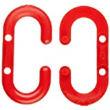 """Mr. Chain 30705 Red Plastic Master Link, 1.5"""" Link, 50 Count"""