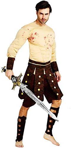 thematys® Disfraz de Guerrero Espartano de Gladiador Muscular para ...