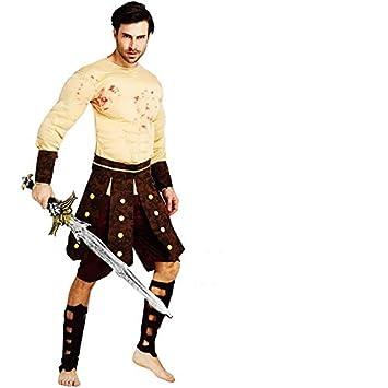 thematys® Disfraz de Guerrero Espartano de Gladiador ...