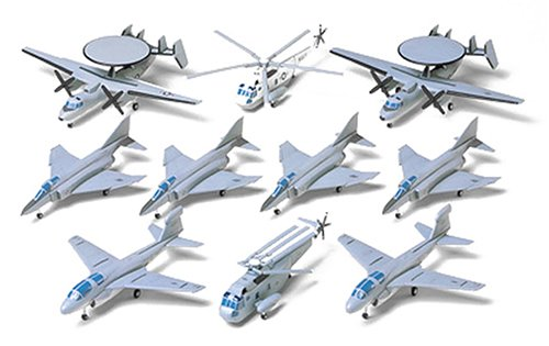 U.s Navy Aircraft Set No.2 - 1:350 Scale Military - Tamiya