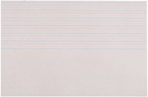 School Specialty Picture Story Zaner Bloser Style Paper - 18 x 12 inches - Pack of 250 - White