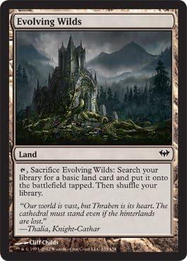 Battle for Zendikar MTG Magic Card Evolving Wilds