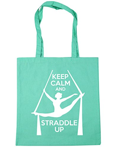 HippoWarehouse Gym 42cm Shopping Bag Tote litres Straddle Up Mint 10 Keep x38cm and Calm Beach RrwqHTAR
