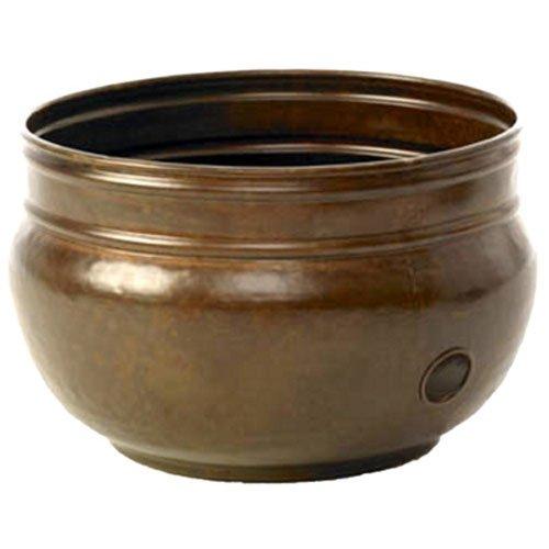 "Liberty Garden Products 1901 Rustic Garden Hose Pot - 18"" Diameter X 13.38"" High"