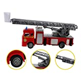 ThinIce Fire Truck Toys Friction Powered Vehicles