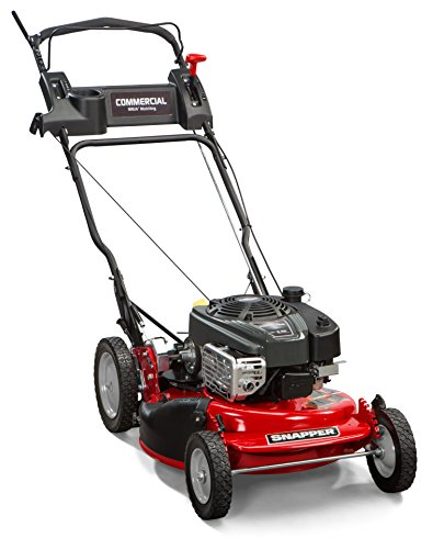 Snapper-CRP218520-7800968-NINJA-190cc-Rear-Wheel-Drive-Variable-Speed-Commerial-Series-Lawn-Mower-with-21-Inch-Deck-Ninja-Mulching-Blade-and-7-Position-Height-of-Cut