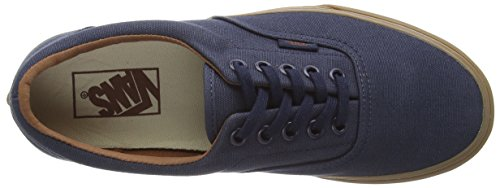 VansU ERA GUMSOLE - Zapatillas Unisex adulto Bleu - Blue (Gumsole - Blue Nights/Medium Gum)