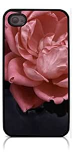 HeartCase Hard Case for Iphone 4 4G 4S (Romantic Rose Flower )
