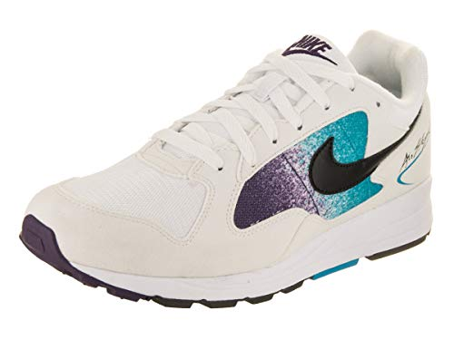 Nike Men Air Skylon II, White/Black-Blue Lagoon WHITE/BLACK-BLUE LAGOON
