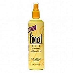 Final Net Pump Hairspray 12 Ounce Extra Hold Unscented (354ml)