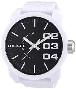 Diesel DZ1518 - Reloj analógico de cuarzo para hombre con correa de plástico, color blanco