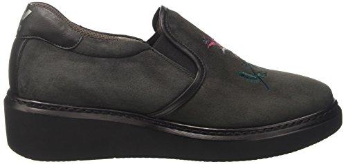 MELLUSO Collo Grigio Lapis Basso Sneaker R25410 Donna a rwtqrRF7