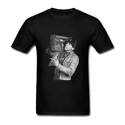 Foxgax Men's Retro LL Cool J With Radio Photo T shirts