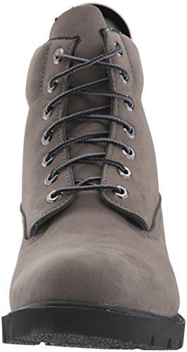 Timberland Basic, Scarponcino Unisex - Adulto Grey Nubuck Wp