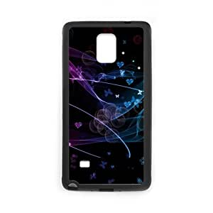 Unique And Diy Note4 Case Design Butterfly Flutters Samsung Galaxy Note 4