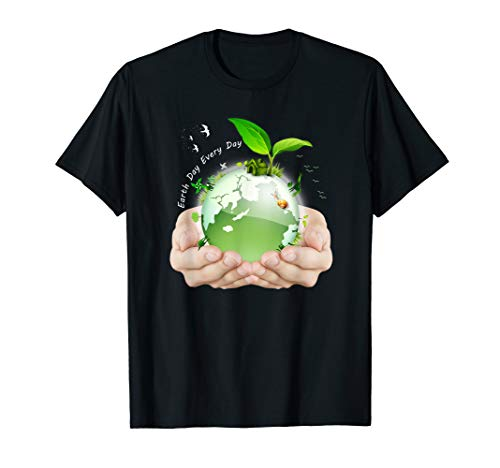 Happy Earth Day 2019 Costume art T Shirt Womens Mens Youth -