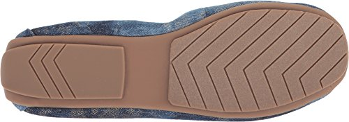 Denim Too Me Women's Blue Ballet Champagne Halle Flat 0PCO4P