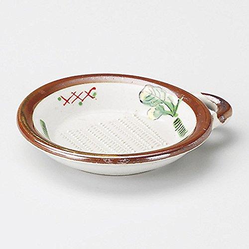 Grated Wasabi hand wash oroshi mini size [ 10 x 8.7 x 1.8cm ] 80g Japanese dish plates traditional oriental asian