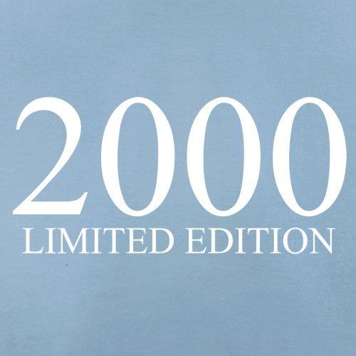 2000 Limierte Auflage / Limited Edition - 17. Geburtstag - Herren T-Shirt - Himmelblau - XXL