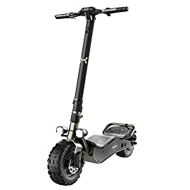 Cecotec Trottinette Electrique Bongo Serie Z. Puissance maximale 1100 W, Batterie Amovible, autonomie illimitée jusqu'à 40 km, Traction arrière, Roues Anti-éclatement 12″