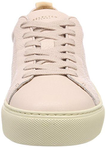 Sneakers Leather Trainer Slfdonna SELECTED B Femme Basses FEMME npRnWg