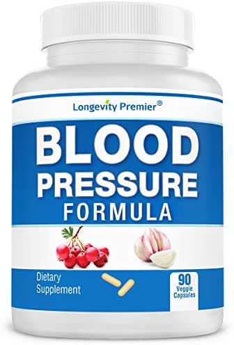Longevity Blood Pressure Formula - Scientifically formulated with Natural Herbs. Best Blood Pressure Supplement