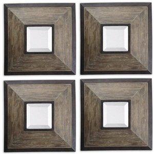 Uttermost Fendrel Mirror Squares 2.5 x 16.25 x 16.25