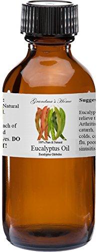 Eucalyptus Essential Oil - 2 fl oz -100% Pure and Natural - Therapeutic Grade - Grandmas Home