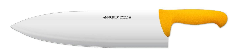 Arcos 14-Inch 360 mm 685 gm 2900 Range Cleaver, Yellow