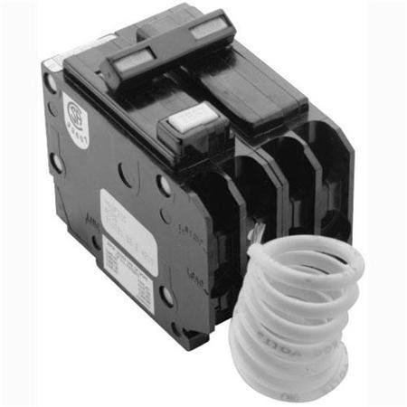 Cutler Hammer Gfci (Cutler Hammer GFTCB240 40 Amp 2 Pole GFCI Circuit Breaker Plug-In 120/240V For Br Series Panel (Does Not Fit In A Cutler Hammer Ch Series Panel) Replaces GFTCB240)