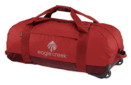 Eagle Creek Travel Gear No Matter What Rolling Duffel Xl, Firebrick, One Size by Eagle Creek
