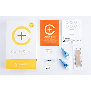 Vitamin D Test Kit – Measure Your Vitamin D3 Levels from Home I Quick and Easy to use I Certified Laboratory I