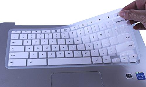 CaseBuy Keyboard Protector Chromebook Semi White