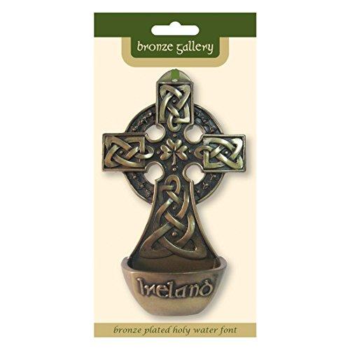 Royal Tara Bronze Plated Holy Water Font
