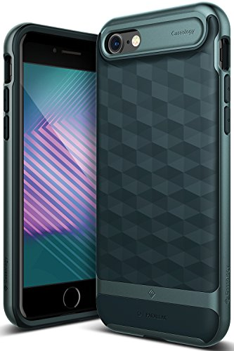 Caseology Parallax Series iPhone 8/7 Cover Case with Design Slim Protective for Apple iPhone 8 (2017)/iPhone 7 (2016) - Aqua ()