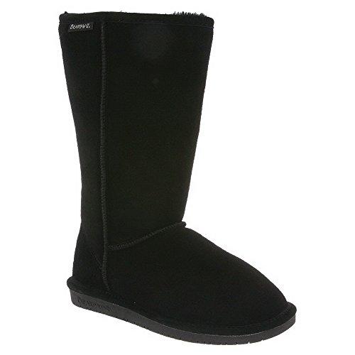 Bearpaw Emma Tall Boot - Youth - Black (3 M US Big Kid) (Classic Tall Wool Boot)