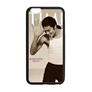 iPhone 6 Plus Case, [Michael jackson] iPhone 6 Plus (5.5) Case Custom Durable Case Cover for iPhone6 TPU case(Laser Technology)