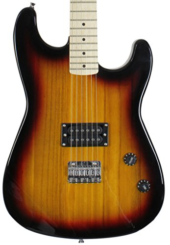 Jameson Guitars RWGT280 SB GCP Full Size Vintage Sunburst Electric Guitar With Humbucker Rock Pickup ()