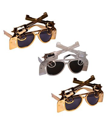 2b6b09e252 Buy Masti Zone Pack of 1 Funky Sunglasses   Goggles  Eyeglasses for Parties  (Multi Colour) Online at Low Prices in India - Amazon.in