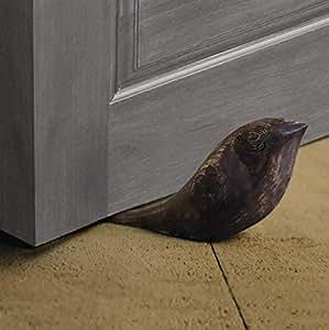 Amazon Com Wooden Door Stops Stopper Decorative Doorstop
