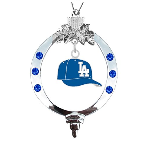 Final Touch Gifts Los Angeles Dodgers Baseball Cap Ornament