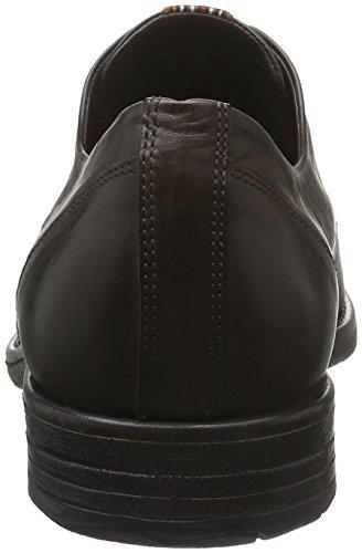 camel active Taylor 11, Zapatos de Cordones Derby para Hombre Marrón (mocca 01)