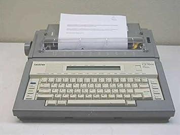 Reconstruido discontinued Brother GX9000 máquinas de escribir por alrededor de la oficina con nueva máquina garantía