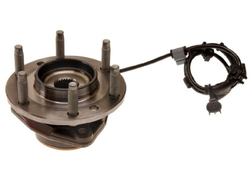 (ACDelco FW121 GM Original Equipment Front Wheel Hub and Bearing Assembly with Wheel Speed Sensor and Wheel Studs)