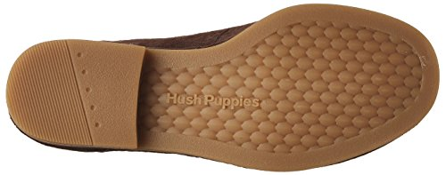 Hush Puppies Dames Cyra Catelyn Laars Donkerbruin Suède