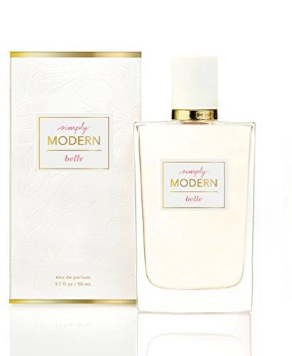 - Belle - Simply Modern Perfume Spray - Seductive Eau de Parfum - Intoxicating Feminine Scent - Glittering Grapefruit, Dewy Water Hyacinth, Sensual Cedarwood - 1.7 oz
